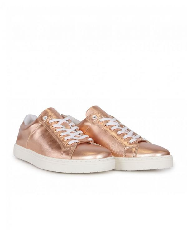 Herrera Cupsole Leather Trainers