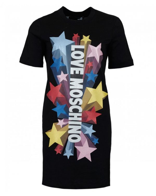 Star Logo T-shirt Dress