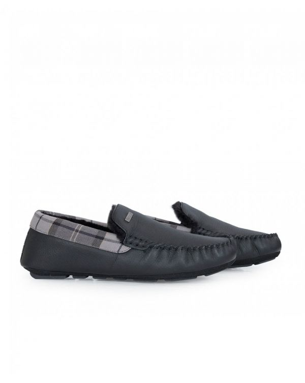 Monty Leather Slippers