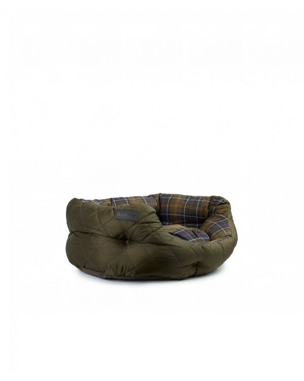 Quilted Tartan 24 Inch Dog Bed