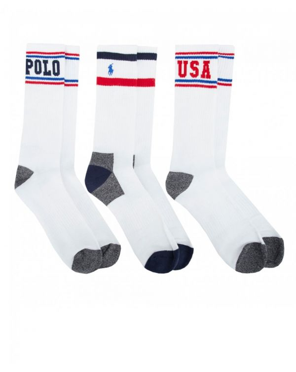 3 Polo Sports Socks