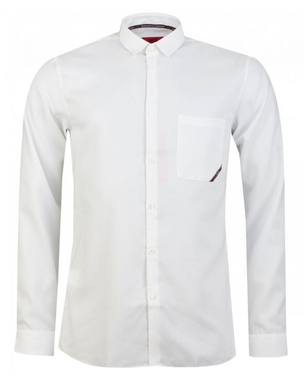 Eli Taped Branded Slim Fit Shirt
