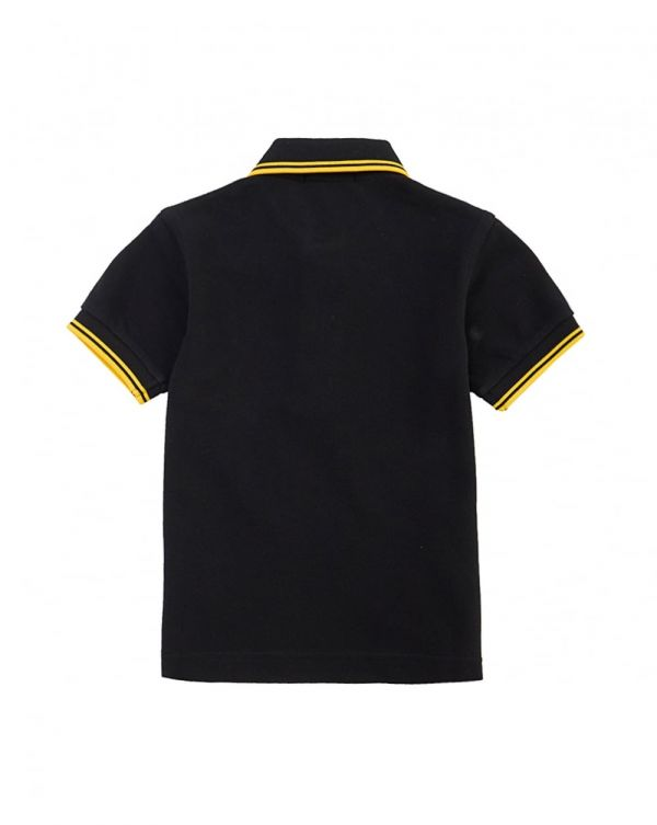Twin Tipped Short Sleeved Logo Polo