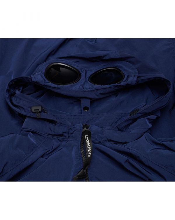 Goggle Hooded Over Shirt
