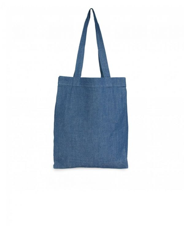 Laurent Denim Tote Bag