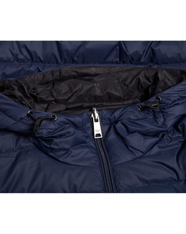 Eagle Hooded Reversible Down Jacket