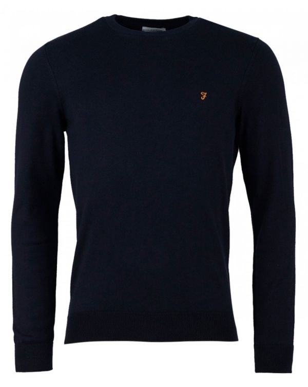 Mullen Cotton Crew Neck Knit