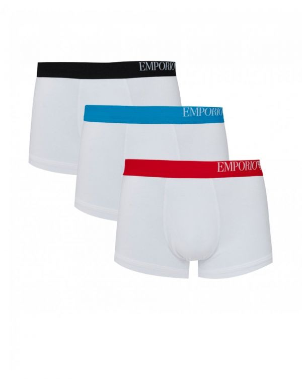 Coloured Side Logo Band 3 Pack Trunks