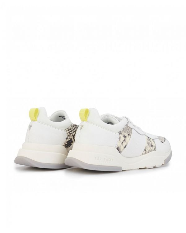 Weverds Snake Detail Chunky Trainers