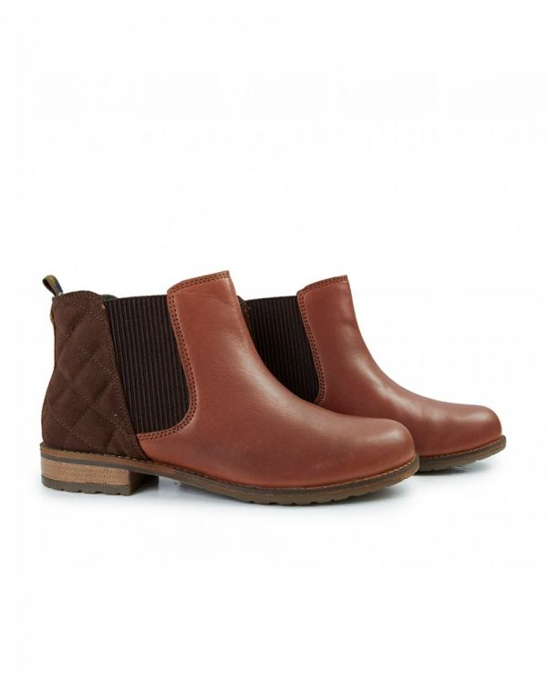 Abigail Ankle Leather Chelsea Boots