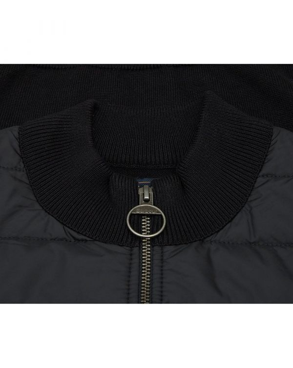 Carn Baffle Zip Through Jumper