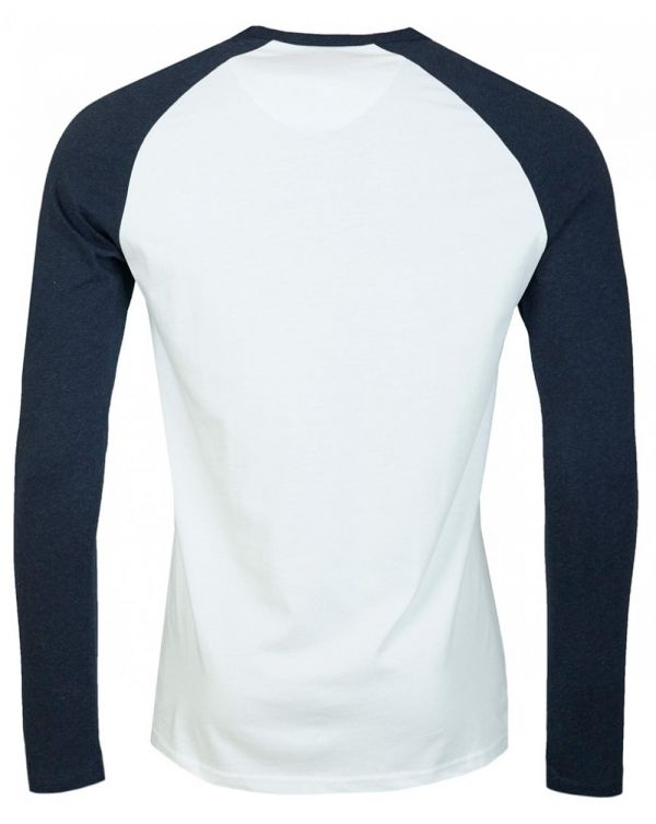 College Long Sleeved Crew Neck T-shirt