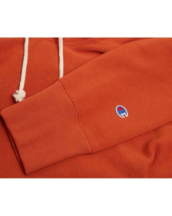 Chest Logo Pullover Hooded Sweat