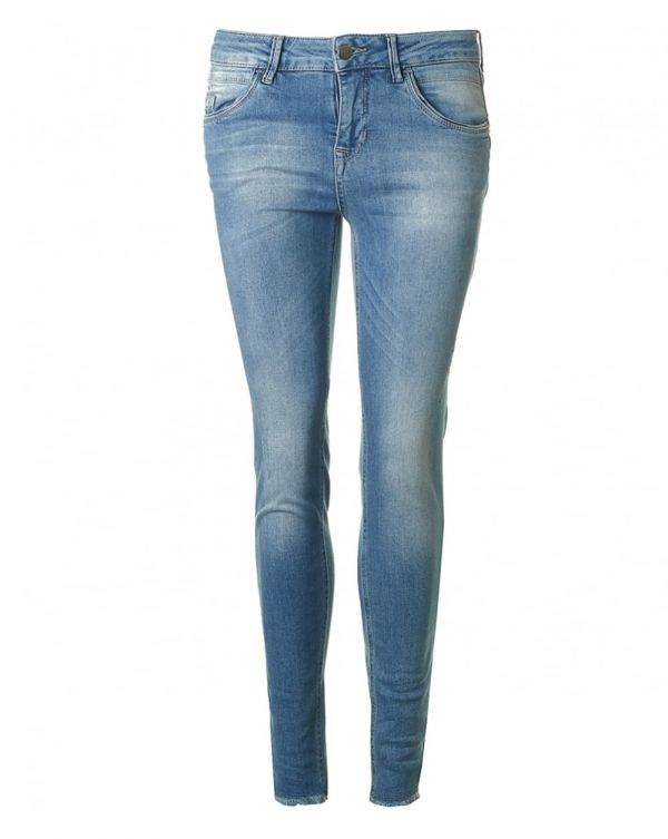 River Cropped Raw Hem Jeans