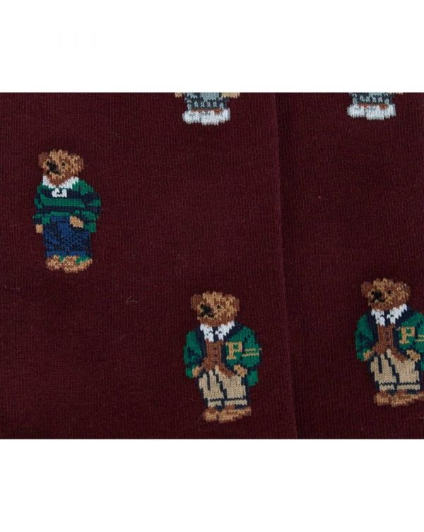 2 Pack Polo Bear And Plain Socks