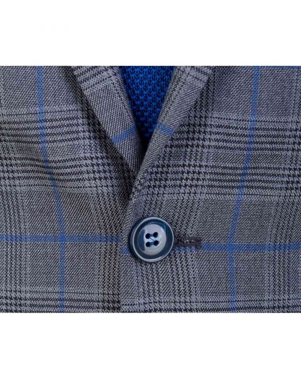 Prince Of Wales Checked Two Piece Suit