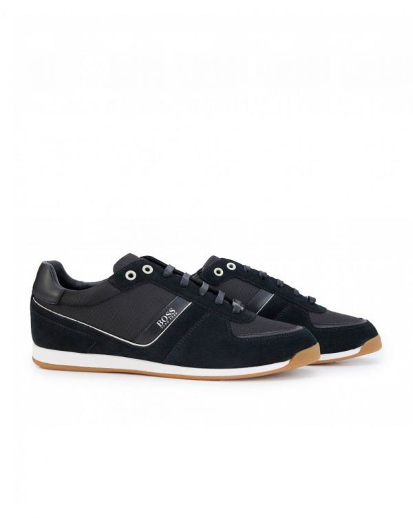 Maze Leather Mesh Suede Trainers