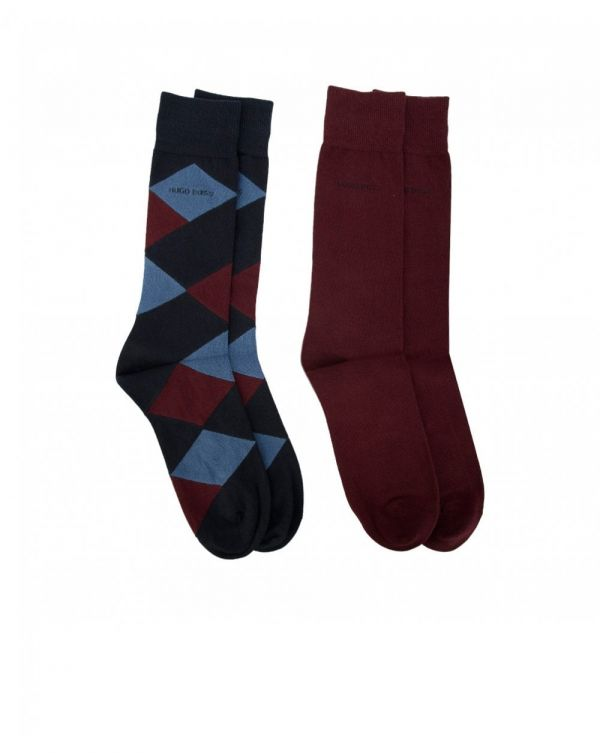 Argyle 2 Pack Socks