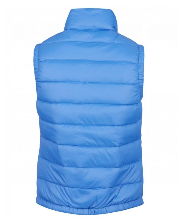 Logo Quilted Down Vest