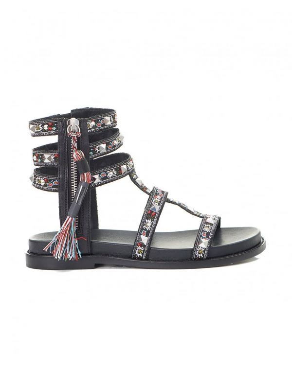Miracle Ribbon Gladiator Sandals
