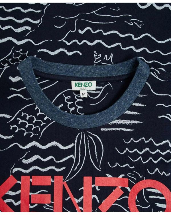 Kenzo All Over Printed T-shirt